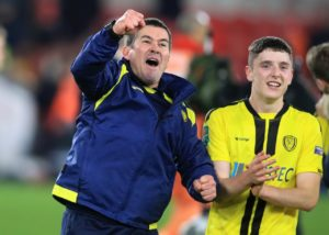 Nigel Clough guided League One's Burton into the last four in the Carabao Cup - and then admitted he had not even checked when the semi-finals are.