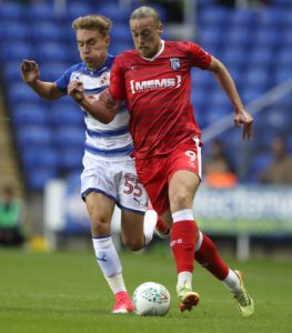 Gillingham striker Tom Eaves could return to action in Saturday's Sky Bet League One home clash with Doncaster.