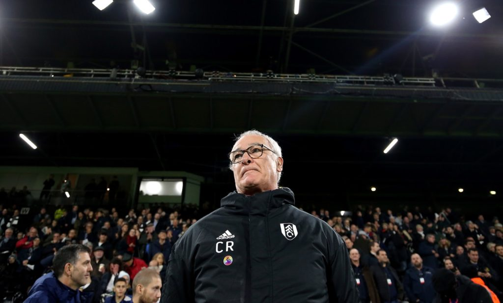 Claudio Ranieri has no new injury problems as he prepares to take a strong Fulham squad to Manchester United on Saturday.