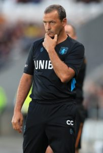 New Cambridge manager Colin Calderwood has a clearer idea of the task facing him as his side suffered a heavy defeat at fellow League Two strugglers Morecambe.
