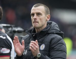 St Mirren manager Oran Kearney has urged his players to drag Motherwell back down towards the relegation zone.