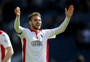 Left-back Luke Leahy scored twice in stoppage time as Walsall came from behind to stun West Midlands rivals Coventry 2-1 in a feisty derby.