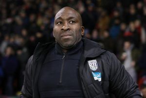 West Brom manager Darren Moore hailed matchwinner Jay Rodriguez after his brace claimed a 2-0 Sky Bet Championship win against Wigan at The Hawthorns.