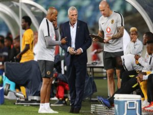 Kaizer Chiefs coach Ernst Middendorp believes Shaun Bartlett is more than just an assistant coach as he has equal power as himself to influence the club positively.
