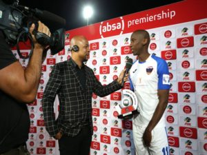 Chippa United forward Mark Mayambela has expressed delight about his Man-of-the-Match performance in Tuesday's 1-1 draw with Cape Town City.