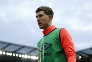 Manchester City are sweating over the fitness of defender John Stones ahead of Saturday's visit of Everton at the Etihad Stadium.
