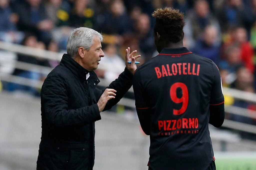 Nice president Jean-Pierre Rivere has downplayed the chances of striker Mario Balotelli earning a new deal at the club.