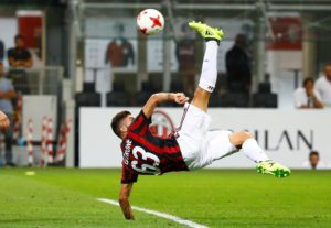AC Milan forward Patrick Cutrone says he is not concerned by reports linking Zlatan Ibrahimovic with a return to the club.