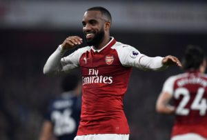Alexandre Lacazette's strike was enough for a youthful Arsenal side as they cruised to victory against Qarabag in the Europa League.