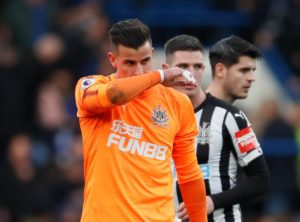 Goalkeeper Karl Darlow is reportedly looking to join Leeds United next month after falling down the pecking order at Newcastle.