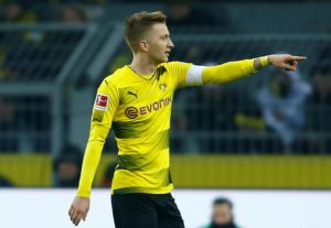 Coach Lucien Favre was delighted with Borussia Dortmund's victory over Borussia Monchengladbach, picking out Marco Reus for praise.