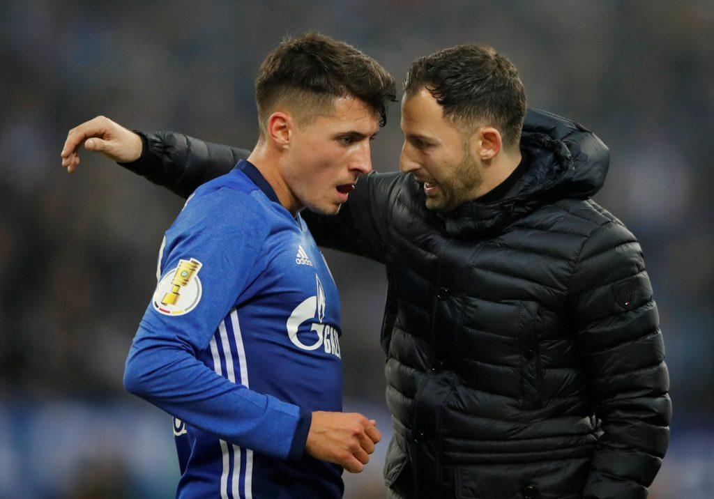 Schalke midfielder Alessandro Schoepf says his side will not go defensive in Saturday's derby against Borussia Dortmund.