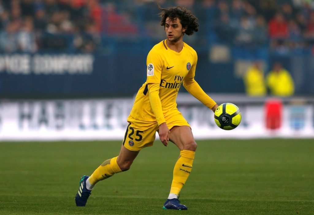 Paris Saint-Germain sporting director Antero Henrique says Adrien Rabiot will spend his time on the bench unless he signs a new deal.