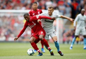 Georginio Wijnaldum says Liverpool need to be very wary of arch-rivals Manchester United when the two sides clash this weekend.