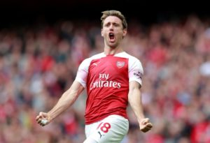 Marseille have been linked with a January move for Arsenal defender Nacho Monreal.