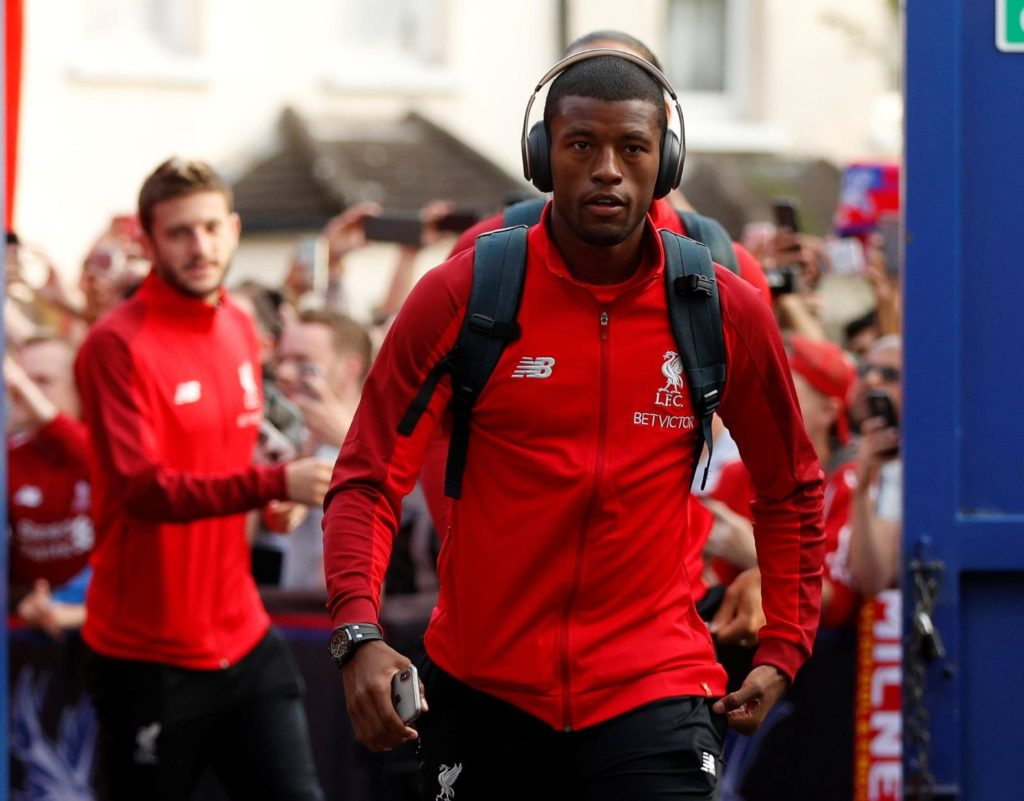 Liverpool's Georginio Wijnaldum insists his team are focusing on their next match - not winning the Premier League title.