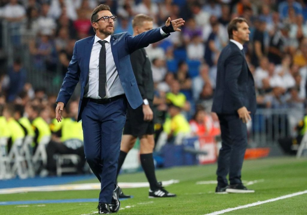 Roma boss Eusebio Di Francesco says he is not thinking about his own future and is focused on improving his side's fortunes.