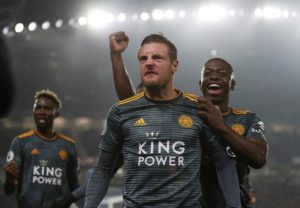 Claude Puel will rotate his Leicester team for Tuesday's Carabao Cup tie against Manchester City with Jamie Vardy set to be rested.