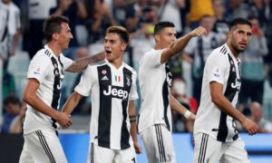 Juventus star Cristiano Ronaldo says he moved to the Turin club to test himself and he is enjoying the challenge.