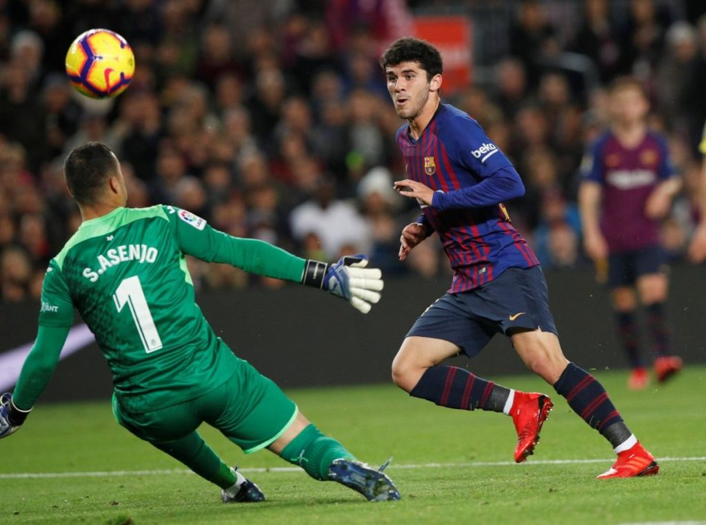 Barcelona boss Ernesto Valverde says Rafinha's injury blow hands 20-year-old Carles Alena a chance to impress.