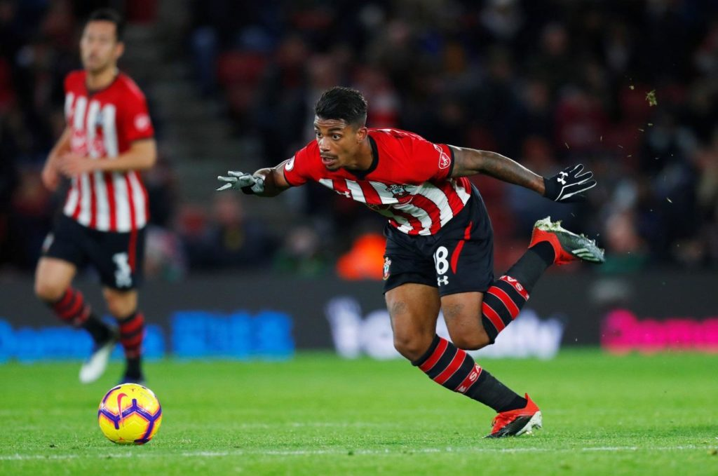 Mario Lemina will be missing for Southampton's trip to Tottenham on Wednesday due to suspension.