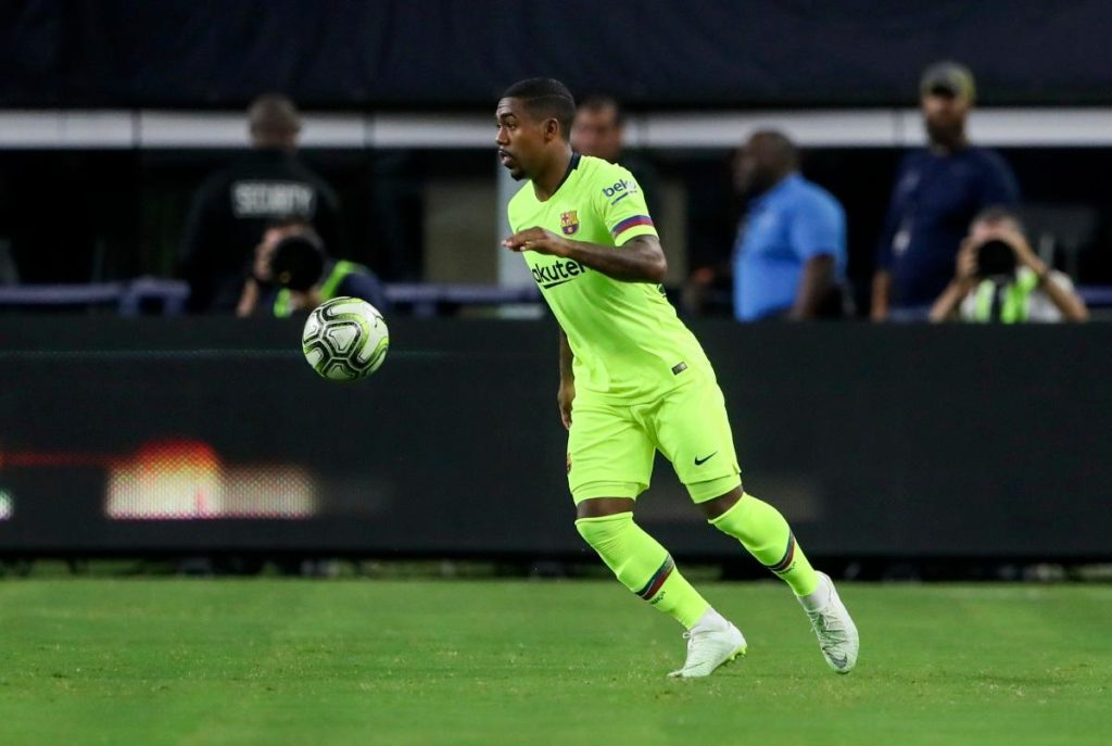 Barcelona boss Ernesto Valderde has admitted that the ankle injury which Malcom suffered on Wednesday 'is a worry'.