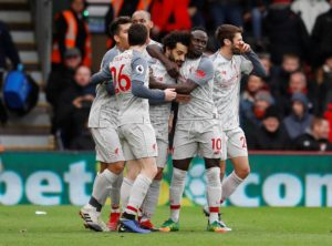Mo Salah scored a hat-trick as Liverpool extended their unbeaten start to the season to 16 games with an easy 4-0 win at Bournemouth.