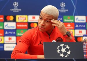 Kylian Mbappe feels the way Paris Saint-Germain use the ball in Tuesday's clash with Red Star Belgrade will be key to the result.