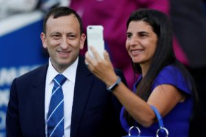 Brighton chairman Tony Bloom says he will continue to invest 'shrewdly' as he looks to establish the club in the Premier League.
