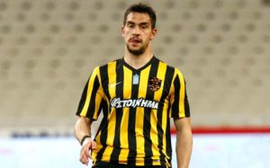 Rangers are reportedly very keen on Greece international centre-back Vassilis Lambropoulos, who has been ostracised by AEK Athens.