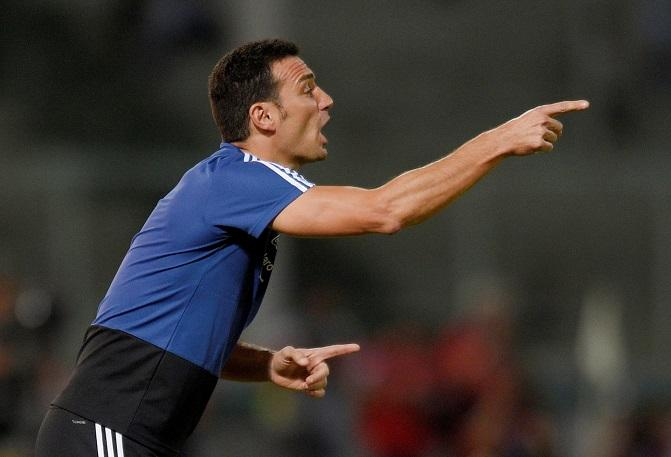 Juan Roman Riquelme has urged supporters to allow Lionel Scaloni and his coaching team time to put their stamp on Argentina.