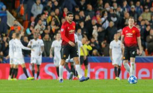 Manchester United finished second in Champions League Group H behind Juventus after a lacklustre 2-1 defeat against Valencia.
