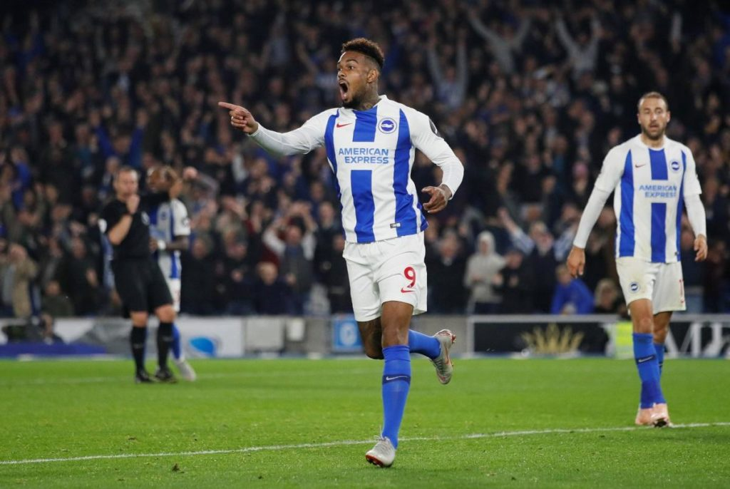 Bruno has praised the performance levels of Jurgen Locadia for Brighton despite him coming under fire after a poor miss at Burnley.