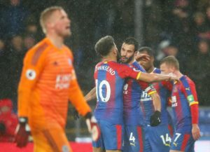 Luka Milivojevic scored the only goal of the game as Crystal Palace picked up a narrow 1-0 win against Leicester at Selhurst Park.