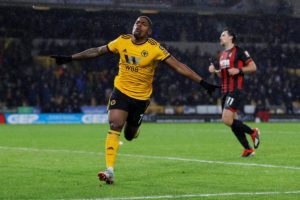 Wolves have moved up to seventh in the Premier League table thanks to a 2-0 win against Bournemouth at Molineux.