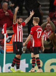Southampton moved out of the Premier League relegation zone as they beat Arsenal 3-2 to end the Gunners' 22-game unbeaten run.