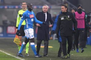 The alleged racist abuse of Napoli defender Kalidou Koulibaly means Inter Milan must now play two Serie A games behind closed doors.