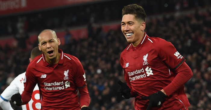 Fabinho bloody loves Liverpool and Brazil teammate Roberto Firmino, the absolute nerd. Pass it on.