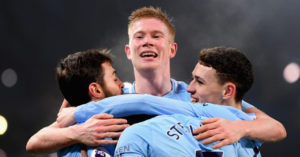 Kevin de Bruyne is loving a 'remarkable' Premier League title race. And he says Tottenham are still well in it.