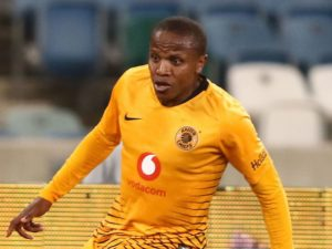Kaizer Chiefs star Lebohang Manyama picked up a knock earlier this week and could be in doubt for the rest of the season.