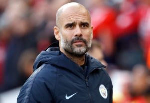 Pep Guardiola warned Liverpool his Manchester City side are determined to keep the pressure on after moving back within four points.
