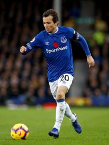 Leighton Baines has been impressed with Bernard since he joined Everton and has backed him to deliver in the rest of the season.
