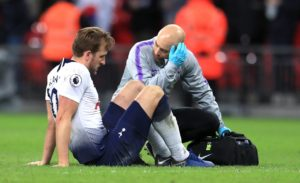 Harry Kane has vowed to battle back to full fitness as soon as possible after being ruled out until March with an ankle injury.