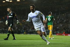 Leeds striker Tyler Roberts will make his first league start since October in the top-of-the-table clash against Norwich.