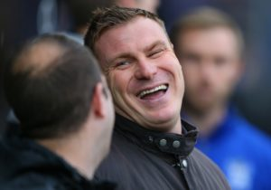 Mansfield boss David Flitcroft was relieved to see his side eventually punish Tranmere for a 37th-minute red card with a convincing 3-0 home win.