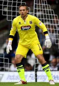 Grimsby goalkeeper James McKeown will serve a three-match ban after the club's appeal against his red card in the 1-0 loss at Lincoln was unsuccessful.