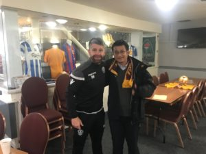 Motherwell's fan-ownership vehicle has attracted an unlikely convert - a Chinese sports commentator with no links to the Lanarkshire club.