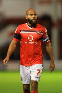 Walsall captain Adam Chambers will miss the League One clash against Scunthorpe due to the foot injury that has kept him out for most of the season.