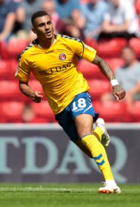 A stoppage-time penalty from Karlan Grant snatched Charlton a dramatic last-gasp 1-0 victory over Accrington at The Valley.