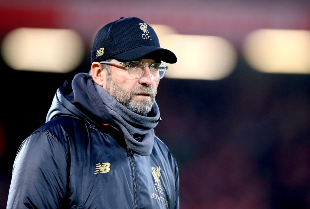 Jurgen Klopp does not feel being out of both domestic cup competitions gives Liverpool an advantage in the Premier League title race.